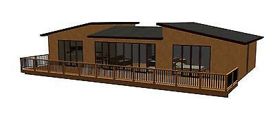 Sited New Holiday Lodge/Log Cabin/Mobile Home/Static Caravan For Sale
