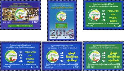 Myanmar Census 2014 (II) (MNH)