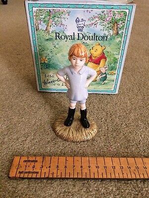 Royal Doulton Christopher Robin Winnie The Pooh Collection WP9