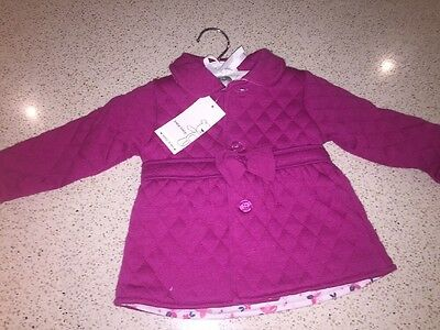 Gorgeous Baby Girls Jacket New With Tags Size 00