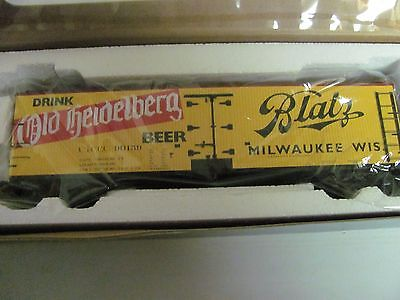 S-Helper Blatz Beer Reefer S Scale MIB