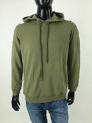 Diesel New Men's F-KINE Sweater Jumper Size M Color Green Retail 110 euro