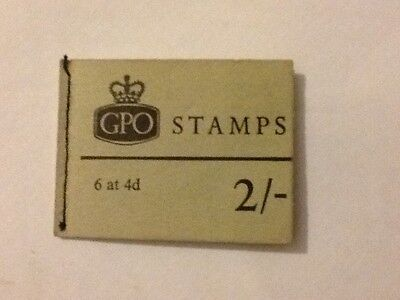 Old book of GPO stamps