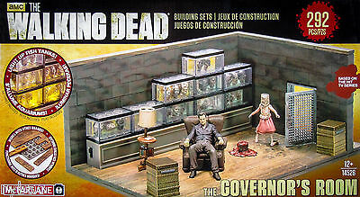 WALKING DEAD BUILDING SET - THE GOVERNOR'S ROOM - McFARLANE TOYS