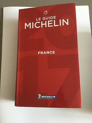 Guide Michelin France 2017 Neuf
