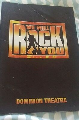 we will rock you musical program
