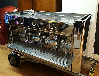 Brasilia Gradisca 3 group Espresso Commercial Coffee Machine