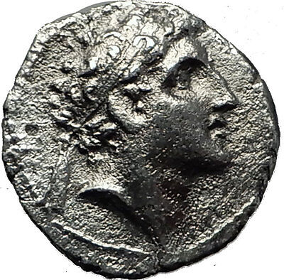 ALEXANDER I BALAS 149BC Seleukid Ancient Silver Drachm Greek Coin APOLLO i59220