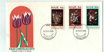 1973  Niue  Christmas  Stamp Issue  FDC