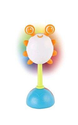 '1%5   Lamaze Rainbow Glow Rattle Toy Toddler Gift Lights and sounds LC27630