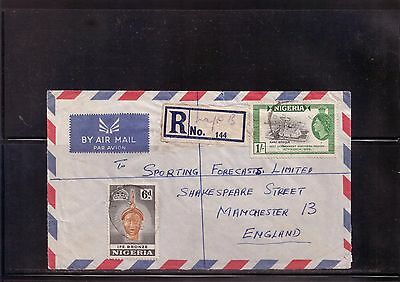 Nigeria - Postal History - 1959 Covers x 2 to England