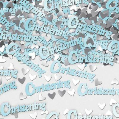 14g Metallic Blue Christening Religion Baby Confetti Table Sprinkles