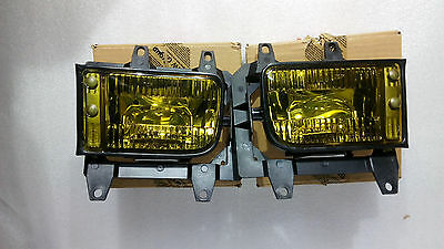 BMW e30 ZKV France Yellow Fog Light Nebelscheinwerfer NOS New