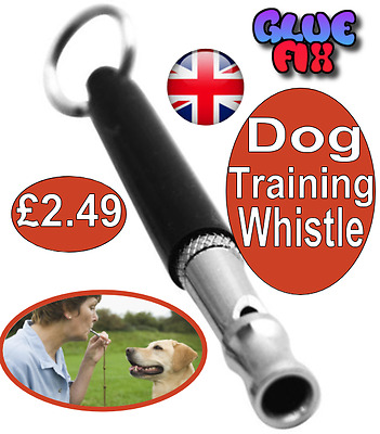 Dog Puppy Pet Training Whistle  Ultrasonic Key Chain Adjustable FREE POST OFFER