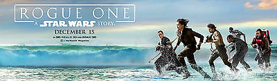 """Rogue One: A Star Wars Story : Movie 12""""x40"""" HI-RES POSTER VINYL BANNER ##"""