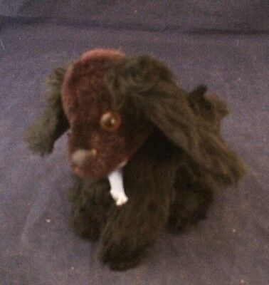 Vintage Mohair Dog - No ID Button or Tags