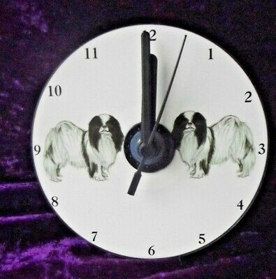 Japanese Chin CD Clock by Curiosity Crafts