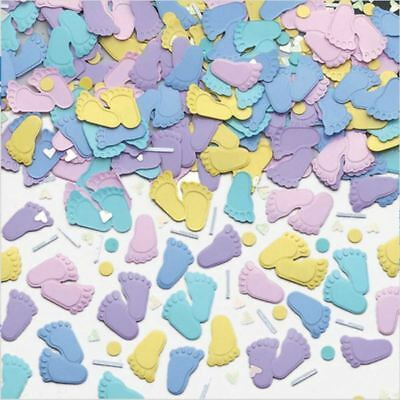 14g Pastel Pitter Patter Confetti Arrival Baby Shower Party Table Sprinkles