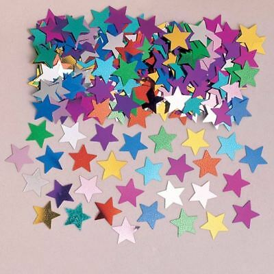 Multi Colour Stardust Confetti Star Birthday Party Table Sprinkles Decoration