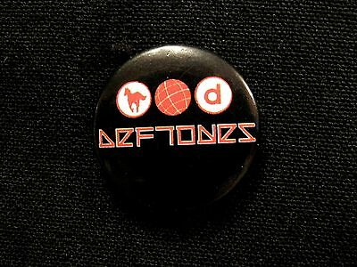 Deftones New Button Badge Pin Uk Made