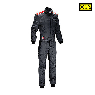 OMP SPORT  Black Racing Suit (with FIA homologation) - S