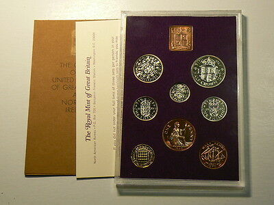 1970 Coinage Of Great Britain & Northern Ireland, 8 Coin Proof Year Set #5897