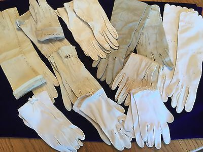 Vintage Ladies/Kids Opra Gloves Lot of 11