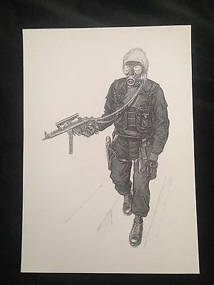 A3 B Squadron 22 Special Air Service Regiment Sas Operation Nimrod Print