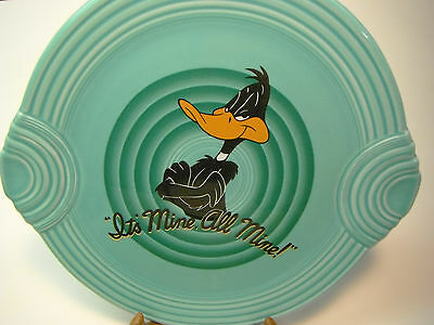 Daffy Duck Dinner Platter Fiesta Ware Warner Brothers