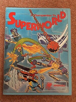 A COMPANION TO SUPERWORLD roleplaying game 1984 Chaosium