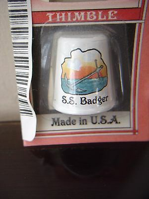 S.S, BADGER Thimble 2001