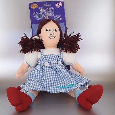 The Wizard of Oz Dorothy Plush Doll Nanco Sugar Loaf Collectible Character