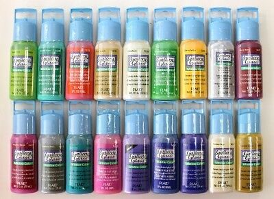 Window Color Acrylic Paint Set (2-Ounce) Best Selling Colors II new