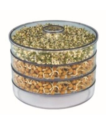Sprout maker / Sprouter / Unbreakable, Shatter resistant,, Food grade plastic
