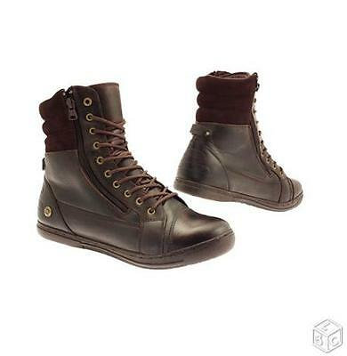 chaussure moto 1964 Cafe Racer Rugged brown T 40