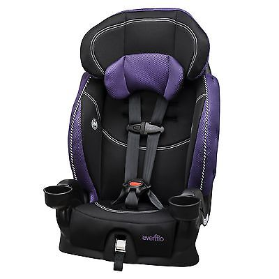 Evenflo Chase LxHarnessed Booster Car Seat, Jasmin