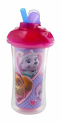 Munchkin Paw Patrol Click Lock 9-Ounce Insulated Straw Cup Pink