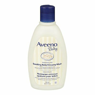 Aveeno Baby Soothing Relief Creamy Wash, 354ml