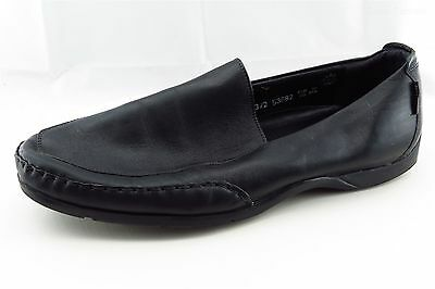 Mephisto Men Shoes Size 10.5 Black Leather Loafers & Slip Ons