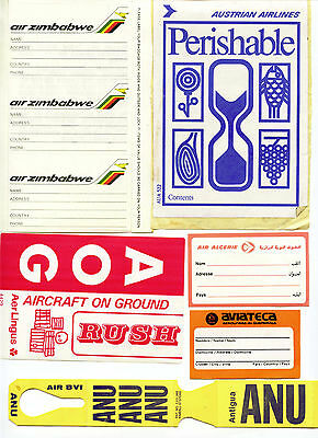 Airline Labels, Stickers & Sundry
