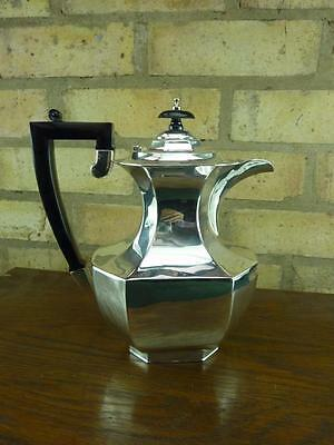 A nice Vintage J.B Chatterley 2 1/2 pint coffee pot EPNS silver plated