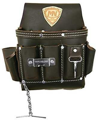 Electrician Tool Belt Holder Bag Pouch Leather Pocket Storage Construction Tape
