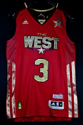 Authentic Pro Cut Chris Paul All Star 2011 NBA Trikot Basketball Jersey M SZ 40