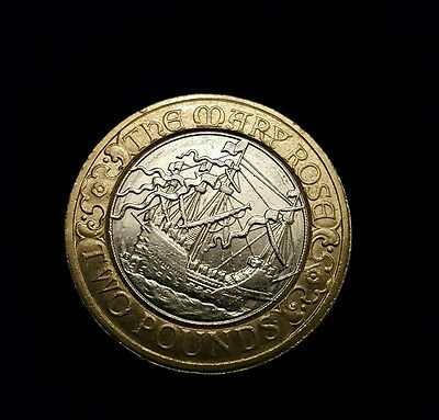 £2 Coin 2011 Two Pound The Mary Rose/Uk Seller