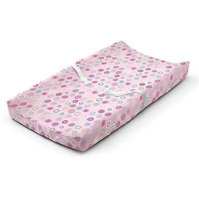 Summer Infant Ultra Plush Changing Pad Cover Pink Swirl