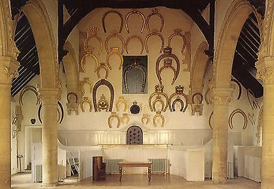 OAKHAM CASTLE - Interior of Great Hall