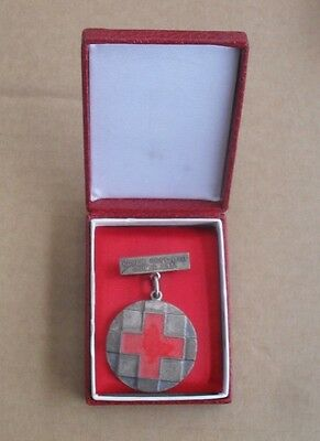 Bosnia,, Red Cross Silver Medal Only For Coplectors