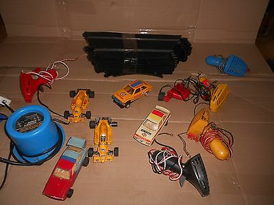 Vintage Scalextric Cars / Track / Transformers / Controllers - Job Lot.