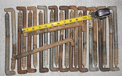 Vintage Qty 24 Telephone Pole Tree Climbing Lineman Climbing Spikes / Steps pegs