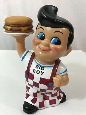 Big Boy Restaurant Collectible Coin Piggy Bank Elias Brothers Year 2001